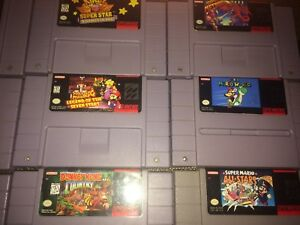 Super Nintendo Games/Tested/Old Skool Gamers