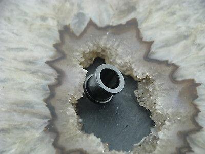 Chirurgenstahl Flesh Tunnel Blackline 10MM Ohr Piercing Ohrring Edelstahl 316L