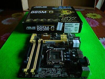 Asus B85M-G PLACA BASE DDR3 Video UltraHD 4K USB3.0 SOCKET LGA 1150 & segunda mano  Villasinta