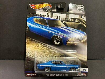 Hot Wheels Chevy Chevelle SS 396 69 Cruise Boulevard 1/64