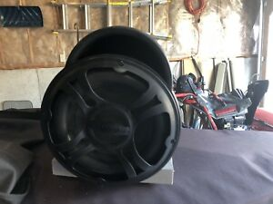 Bazooka subwoofer w/ built in amp