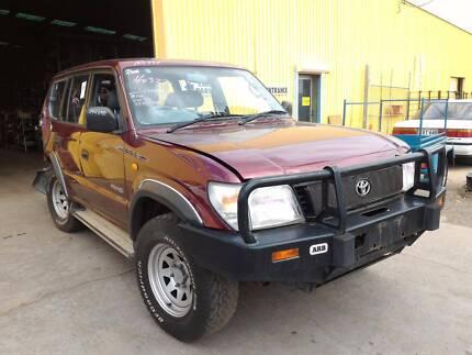 Wrecking 97 Toyota Prado VZJ95 MT 4WD 160327, Parts Only
