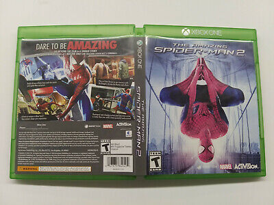 Amazing Spider-Man 2  (Microsoft Xbox One xb1) Game and CASE, NICE RARE!