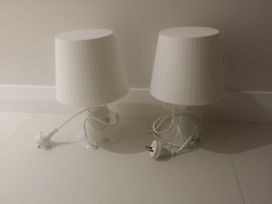 pair of ikea bedside lamp Perth Perth City Area Preview