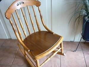 Old Vintage Smaller Colonial Rocking Chair. A Little Gem! Prospect Launceston Area Preview