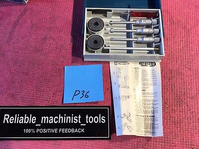 Brown Sharpe Intrimik Bore Holtest Inside Micrometer 6-12 Mm In W2 Ring P36