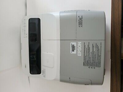 Epson BrightLink 450Wi 3LCD 2500 ANSI Lumens Projector With 1265 Used Lamp Hours