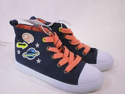 Toddler Girls' Jory High Top Sneakers 10 - Cat & Jack - Navy, Blue NEW