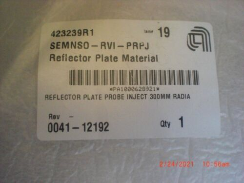 Applied Materials AMAT 0041-12192 Reflector Plate Probe 300mm Radiance