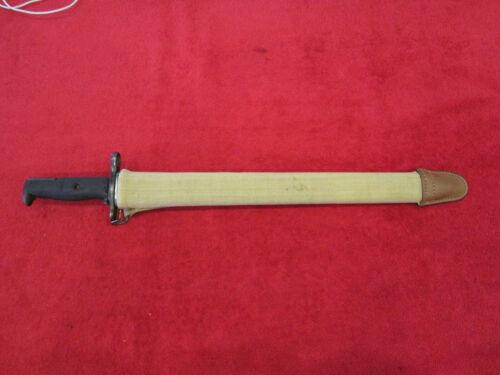 US Springfield Original WWI Model 1905 Bayonet dated 1919 W/Scabbard