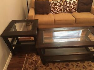 Coffee table and side tabel