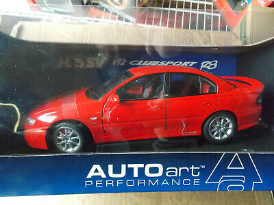 RARE Limited ED Holden HSV VTZ Clubsport R8 in Red by Autoart