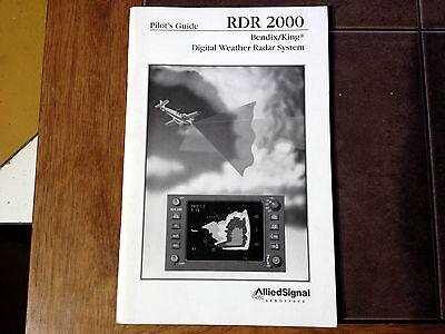 Bendix King RDR 2000 Digital Weather Radar Pilot's Guide