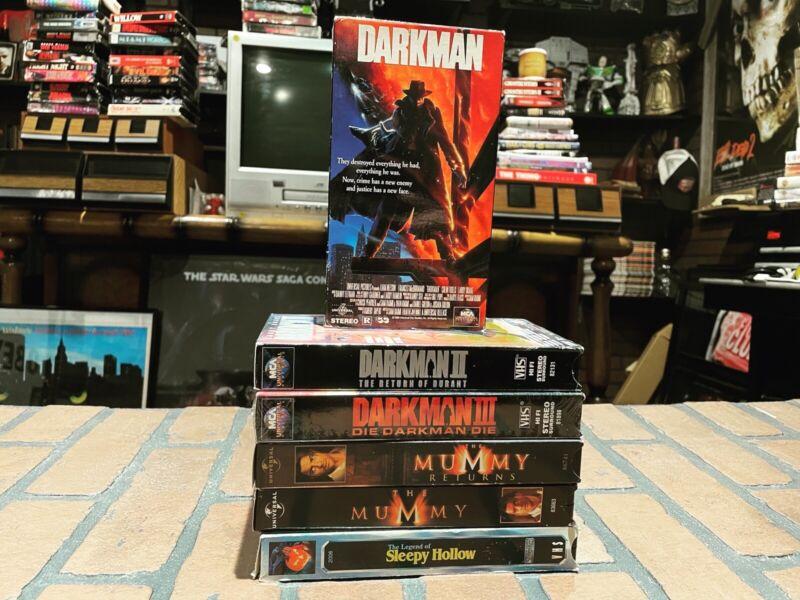 VHS Horror Lot Of 6