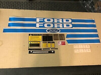 Ford 2810 Hood Cautionsptolift8 Speed Shift Decals