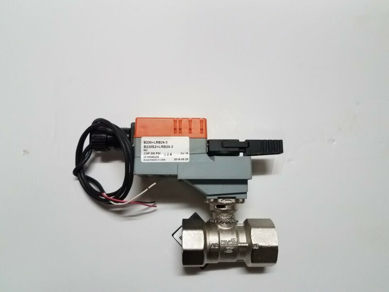 """BELIMO 1-1/4"""" CONTROL VALVE / ACTUATOR ASSEMBLY B230+LRB24-3"""