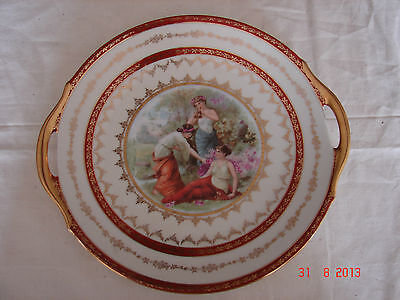 CELEBRATE CZECHOSLOVAKIA - Bible Portrait - Greek Goddess - Handle Plate