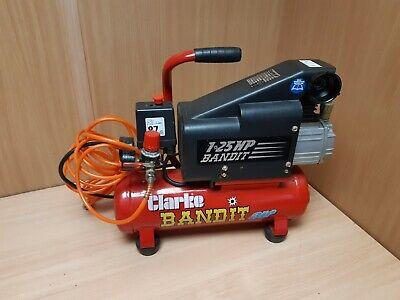 Clarke Bandit Air Compressor 1.25 hp HY 94953
