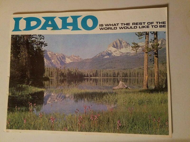Idaho Is What the Rest of the World Would Like to Be  Travel Booklet , 1960s