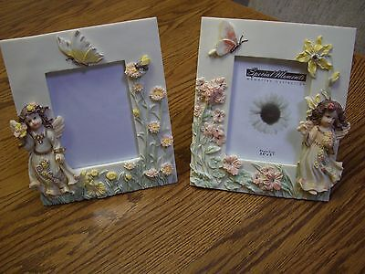 2 Special Moments Ceramic Photo Frames (Angel in a Garden) (7