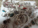 VINTAGE STERLING SILVER TREASURES