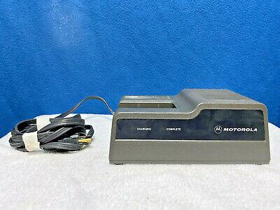 Motorola 2 Way Radio Rapid Charger - Ntn4633a - Ht600 - Ht800 - Mt1000 - Others