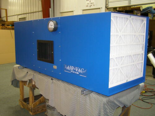 Industrial Air Cleaner AIR-VAC SYSTEMS for fume, smog, smoke, mist-NEW!