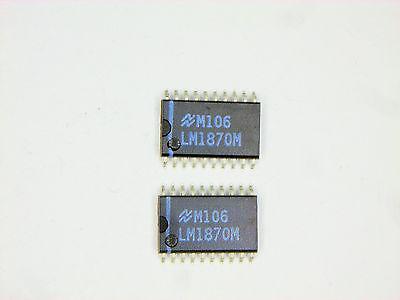 Lm1870m Original National Semiconductor 20p Smd Ic 2 Pcs
