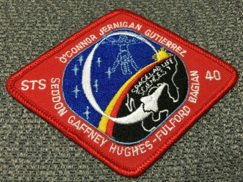 """#003 ORIGINAL AB SPACE MISSION PATCH 1991 STS-40 4.5"""" WIDE"""