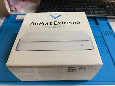Apple Airport Extreme WiFi Base Station Model A1408 with everything included.