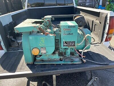Onan 6.5rv Genset 6500 Watt Rv Gas Generator 6.5 Kw As Is