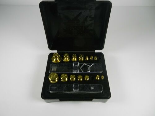 Troemner Scale Brass Calibration Weight Set Incomplete FREE SHIPPING!!!