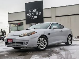 2008 Hyundai Tiburon GS w/Sport Pkg | UPGRADED STEREO