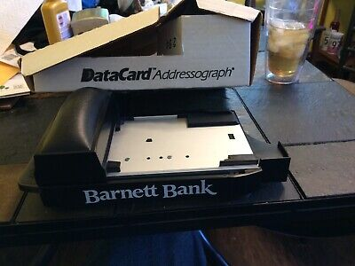 Datacard Addressograph Manual Credit Card Machine Imprinter