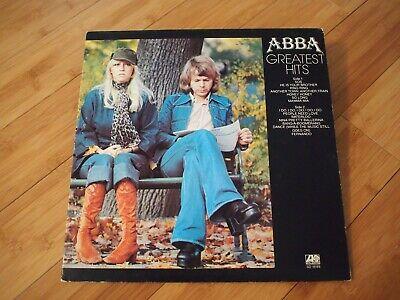 "ABBA Greatest Hits VINYL 12"" LP GFLD 1976 Atlantic Records SD18189 Album Comp"