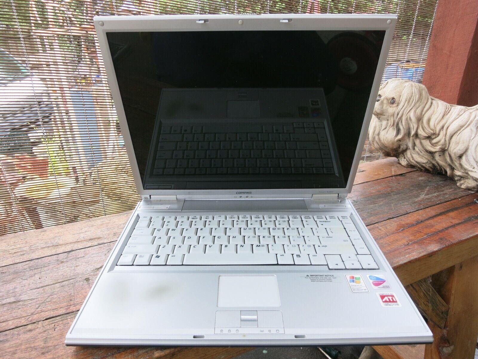 Laptop Windows - Compaq Presario Windows XP 60gb 512mb ram Pentium M-  B3800 laptop