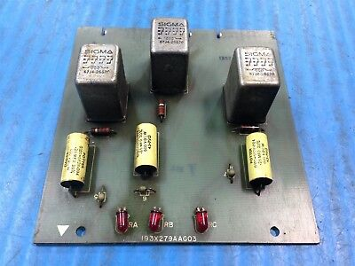 USED GE GENERAL ELECTRIC 193X279AAG03 RELAY CARD (M4)