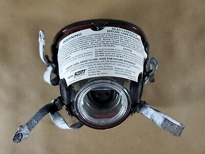 Scott Av-2000 Air Mask Respirator Scba Firefighter Size X-large