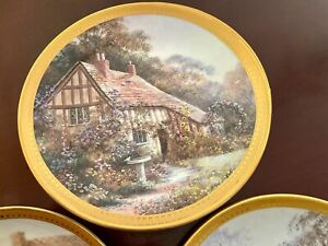 Decorative fine bone china plates