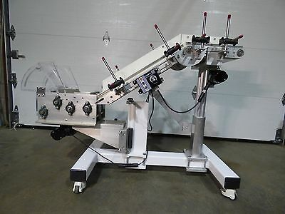 R.l. Craig Rlc 250 Incline Conveyor Feeder Variable Speed 110 Volt Sharp