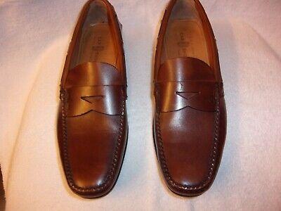 Men's THE ORIGINAL CAR SHOE brown loafers size 9.5