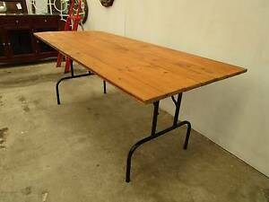 D2016 Great Timber Trestle Dining Table Unley Unley Area Preview