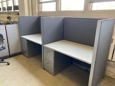 48wx30d Telemarketing Call Center Cubicles By Steelcase Kick Office Furniture