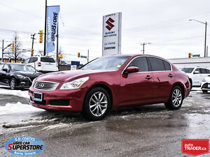 2009 Infiniti G37x AWD ~Heated/Cooled Leather ~Power Moonroof