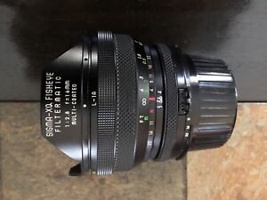 Sigma MF 16mm f/2.8 Fisheye Filtermatic Lens for AI Nikon