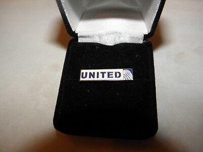 United Continental Airlines Pin Flugzeug Airline Pilot Weihnachtsgeschenk Neu!