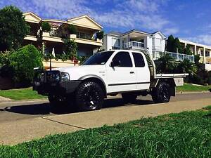 2005 Ford Courier Ute 4x4 2.5 Turbo Diesel Manual 4wd Lane Cove North Lane Cove Area Preview