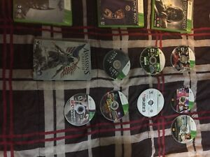 Xbox One and Xbox 360 Games