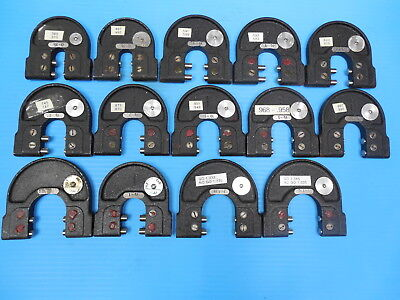 """LOT OF 13PCS SNAP GAGES 3/8 5/8  3/4 7/8 1"""" OVER AND UNDER SIZE DIAMETERS 1.000"""
