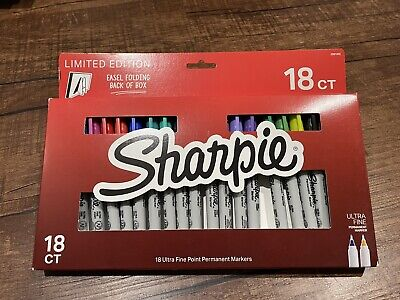 Limited Edition Sharpie Ultrafine 18 Count Permanent Markers Multicolor